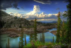 Lake Mary Trail, Wasatch Mountains Utah.....hiked her one afternoon. Was beautiful.