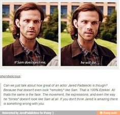 Yep Jared is a star. Also, it's clear this post is early in S9 because that's not Ezekiel, it's Gadreel