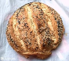 Gluten Free Artisan Bread - quick and easy! - gfJules