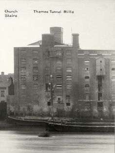 Thames Tunnel Mills, Rotherhithe Street, Rotherhithe, London. Date 1937.