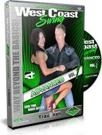 West Coast Swing Advanced Volume 1 (Shawn Trautman Dance Instruction):   Shawn and Joanna Trautman will have your West Coast Swing cookin during West Coast Swing Advanced Volume 1 as you take your entire tool box of West Coast Swing moves, leads, patterns, and rhythms, shake them out on the floor, and start re-assembling them with illusions, hand changes, and body leads that will leave you and your partner breathless! You and your partner will need to fasten your safety belts and hang ...