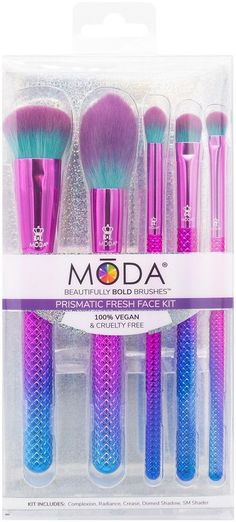 Brush Sets, Fresh Face, Cruelty Free, Clean Face