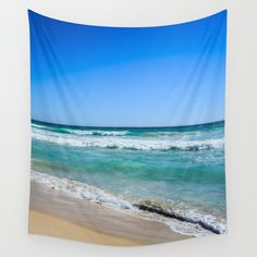 Wall Tapestries featuring Beach...  by Michelle McConnell