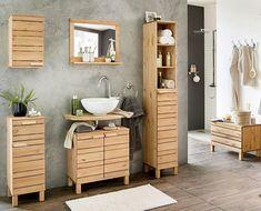 Badezimmermöbel poco ~ Waschbeckenunterschrank »amrum« badezimmer pinterest
