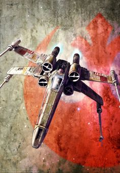 X-Wing Starfighter. My cover artwork for Magazine of the Belgium Star Wars Fan Club. Star Wars Film, Star Wars Rebels, Nave Star Wars, Star Wars Fan Art, Star Wars Poster, Star Wars Spaceships, X Wing Fighter, Star Wars Vehicles, Mundo Comic