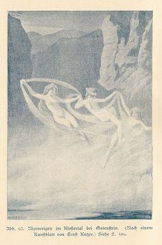 """Ernst Kutzer,""""Dance of the mermaids"""""""