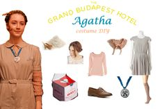 Agatha from The Grand Budapest Hotel DIY ideas! Comic Con Costumes, Movie Costumes, Couple Halloween Costumes, Cool Costumes, Costume Ideas, Wes Anderson Style, Wes Anderson Movies, Hotel Party, Grand Budapest Hotel