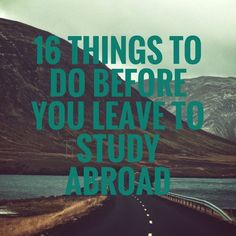 16 Things To Do Before You Leave to Study Abroad w/ Printable Checklist | Study Abroad Series Vol. 1 - The Beautiful Fool