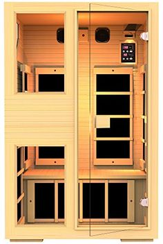 Saunas - JNH Lifestyles NE2HB1 ENSI Collection 2 Person NO EMF Infrared Sauna Limited *** See this great product. (This is an Amazon affiliate link)
