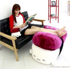 "SUSHI 28"" Super Size OCTOPUS Pillow Cushion Doll Bedding Room Decor Cute Kawaii"