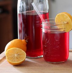 Raspberry Lemonade Recipe that helps with weight loss, cellulite, menstrual cramps, pain and inflammation.