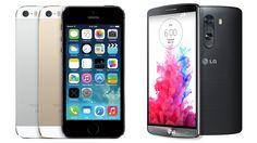 LG G3 vs Apple iPhone 5S: Smartphone Spec Showdown