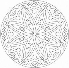 84 dessins de coloriage mandala à imprimer sur LaGuerche.com - Page 2