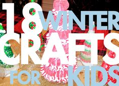 Entertain the kids this holiday break with 18 kid-friendly crafts that you'll like too. Holiday Crafts For Kids, Craft Projects For Kids, Kids Christmas, Fun Crafts, Craft Ideas, Fun Ideas, Christmas Trees, Xmas, Party Ideas