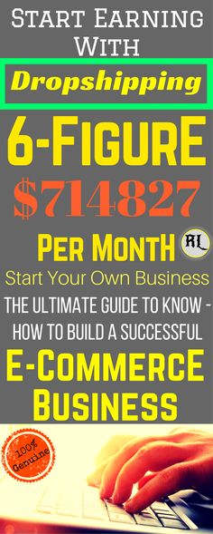 Work from home in Start dropshipping (E-commerce business) to make money from home. Dropshipping business is the one of best side hustle. Start your own e commerce business which is great way to make money from home. Click the pin to see how >>> Earn Money Online Fast, Ways To Earn Money, Earn Money From Home, Way To Make Money, Earning Money, E Commerce Business, Online Business, Ecommerce, College Student Budget