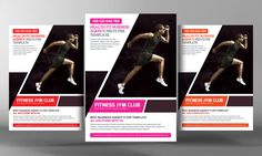 Fitness Gym Flyer Template by Business Templates on @creativemarket