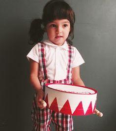 Llevo el invierno: R.e. Handmade Vintage Drum !