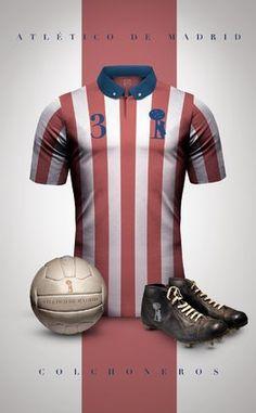 Les maillots de grands clubs de foot imaginés façon rétro