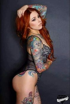 Tattooed Girl ;-)~❤~