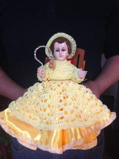 Niño Dios Jesus Clothes, Baby Jesus, Crochet Baby, Crochet Patterns, Faith, God, Dresses, Fashion, Templates