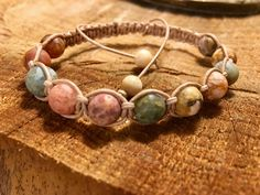 Ocean Agate Shambhalla Bracelet / Moonstone / Men, Women, Unisex by LoveKnotsCollective on Etsy https://www.etsy.com/listing/490146497/ocean-agate-shambhalla-bracelet