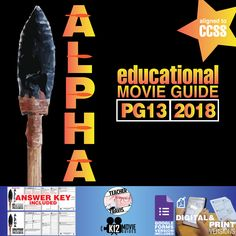 #Alpha Movie Guide | Questions | Worksheet (PG13 - 2018) challenges students to compare their lives to a teenage boy 20,000 years ago. #GoogleClassroom #GoogleForms #Teachers #MovieGuides #LessonPlans #TPT #TeachersPayTeachers #CCSS #CoronaVirus #Homeschooling #RemoteLearning #DistanceLearning #StaySafe