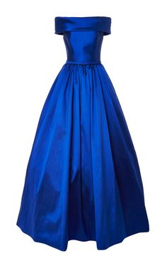 Off-Shoulder Ball Gown by Reem Acra on Moda Operandi