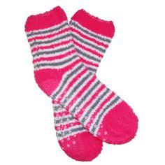 RSG Girls & Women's Soft & Fuzzy Non-Skid Slipper Socks (Pink Stripes) RSG http://www.amazon.com/dp/B00H3IQP5G/ref=cm_sw_r_pi_dp_RQhcwb0K56WNP