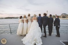 What an amazing dress that our beautiful bride Kia is wearing on board MV EPICURE I #katstanleyphotography