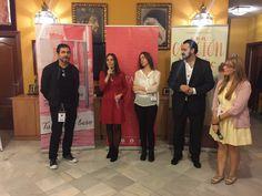 José de la Rosa, la editora de Titania Esther Sanz, María Martínez y dos de los organizadores del JAR2015