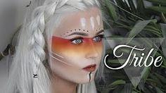 Aztec tribal warrior creative makeup   CookieChipIry - YouTube