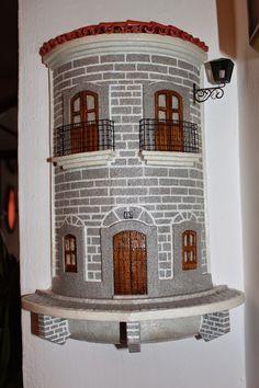 Fachada de tiras característica de Añora (Córdoba).   Precio: 80 euros