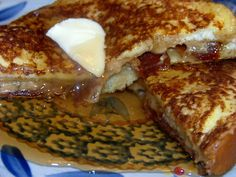 Mrs Happy Homemaker: Bacon Stuffed French Toast