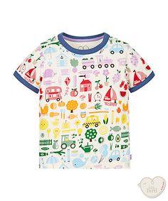 Little Bird by Jools Rainbow T-Shirt