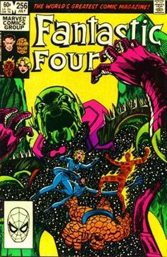 Fantastic Four 1983 Annihilus Galactus Avengers John Byrne Marvel Comics c Fantastic Four Comics, Mister Fantastic, Jack Kirby, Stan Lee, Marvel Comic Books, Comic Books Art, John Byrne, Marvel Series, Classic Comics