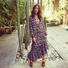Cutie @beatemuska in the Sierra Dress #forloveandlemons