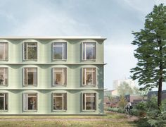 Churchill College Graduate Residences - Alison Brooks Architects