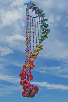 Receitas de Crochet: Móbile butterflies crochet