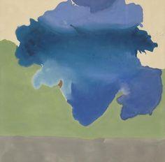 Helen Frankenthaler, The Bay, 1963 Acrylic on canvas 80 3/4 x 81 3/4 inches (205 x 208 cm)