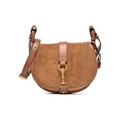 Michael Michael Kors-JAMIE MD Saddle bag - Handtaschen /braun