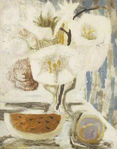 White Still Life. Mary Fedden (1915-2012)