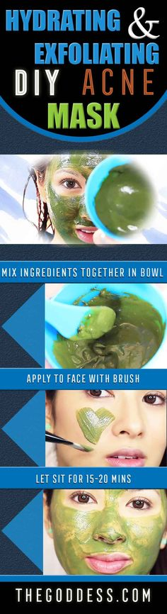Best DIY Acne mask for Scar Treatment - Fast Acting and Easy Homemade recipes
