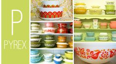 My Mom-mom had the green bowls with the white flowers. I broke it washing dishes one day when I was young. She was so sad. I remember standing in a sea of shattered pyrex. Maybe I can find her another one...