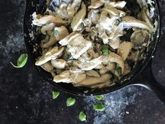 Creamy Low Carb Chicken and Mushrooms
