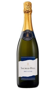 De Bortoli Sacred Hill Sparkling Brut Cuvee NV Riverina - 12 Bottles Pinot Noir Grapes, Wine Display, Fresh Cream, Sparkling Wine, Fine Wine, Fresh Fruit, Oysters, Wines, Champagne