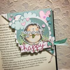 scrap stamping e fantasia: bookmarks Bookmarks For Books, Paper Bookmarks, Corner Bookmarks, Mein Hobby, Paper Art, Paper Crafts, Book Markers, Bullet Journal Ideas Pages, Scrapbook Embellishments