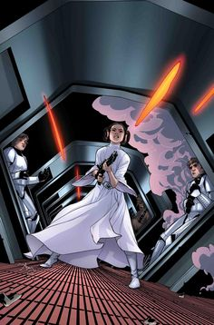 Leia was the first badass heroine for girls; she is a definition of feminism.