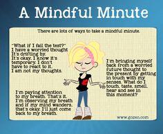 A mindful minute by GoZen