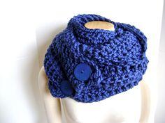 Crochet Scarf Cowl  ON SALE 54 reg 74 Chunky by sheilalikestoknit, $54.00