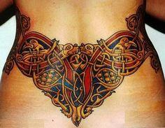 Beautiful Celtic Tattoo Designs : Beautiful Lower Back Celtic Tattoo ...